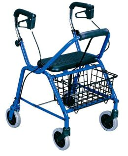 Click Here to Find Out More about Aussie Lite & Aussie Lite Petite Aluminum 4 Wheel Walker From Mobility Express