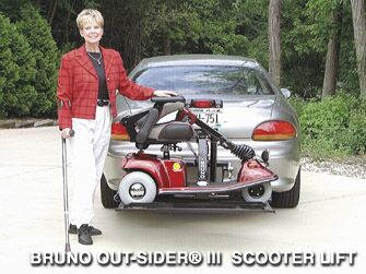 Bruno Scooter Lift Outsider 210
